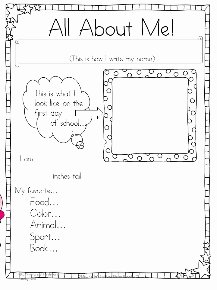 Esl Writing Prompts with Pictures Fresh All About Me Writing Prompts