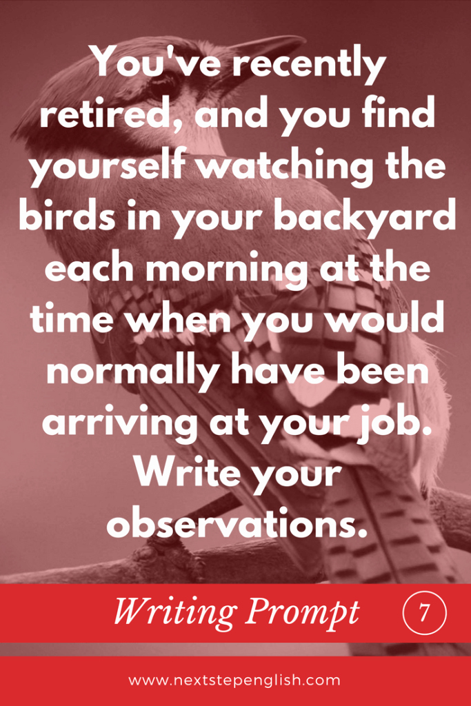 Esl Writing Prompts with Pictures Luxury Bird Writing Prompts 10 Creative Writing Ideas for