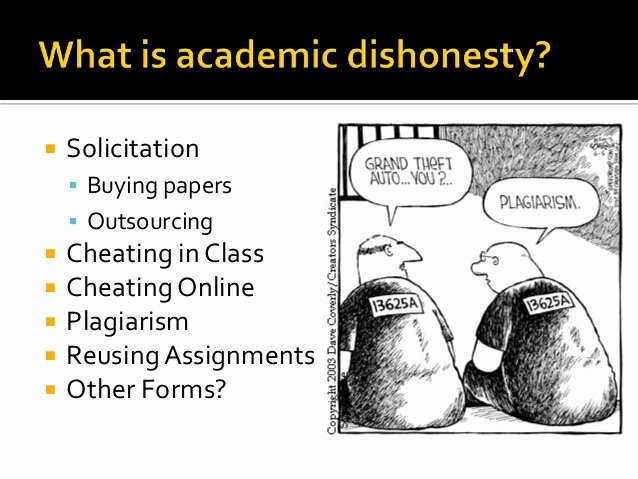 Essay About Cheating In School Elegant Academic Dishonesty