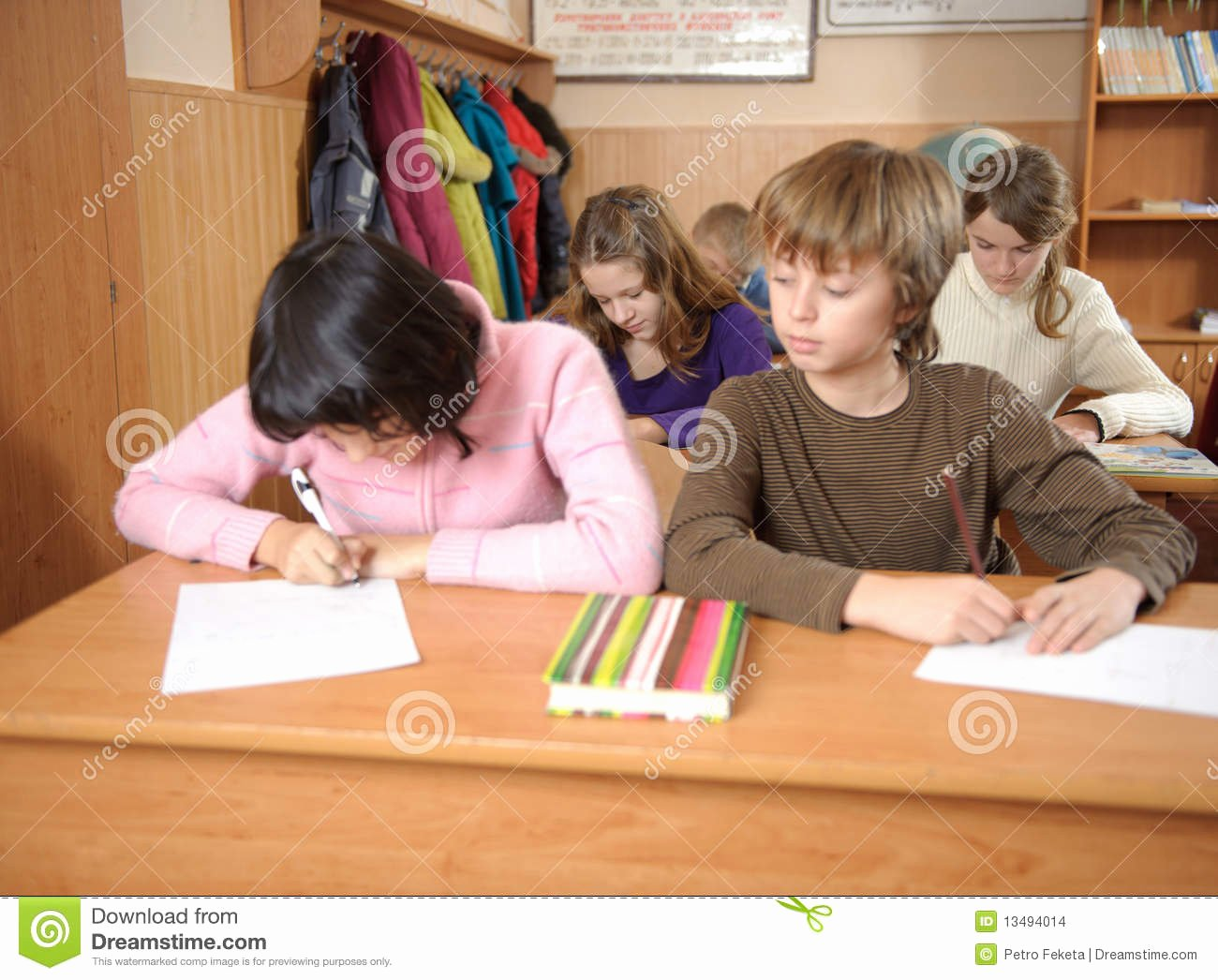Essay About Cheating In School Unique Cheating at School Stock Image
