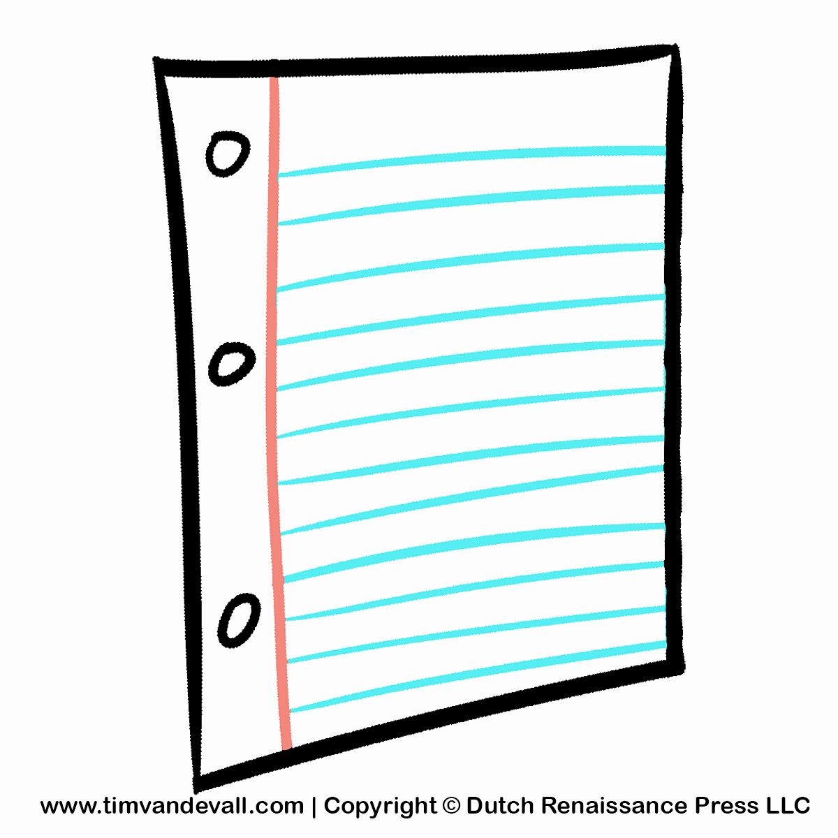 Essay Writing Clip Art Inspirational Sheet Clipart