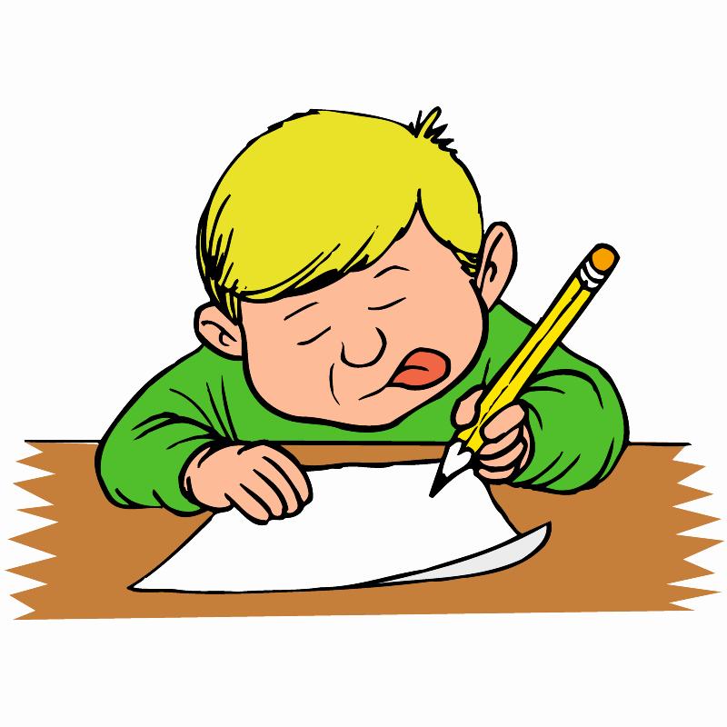 Essay Writing Clip Art Unique Kids Writing Clipart Clipartion