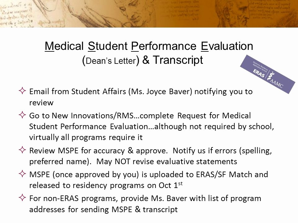 Evaluation Letter Sample for Student Lovely Eras and Nrmp Pathway to Residency Ppt Video Online