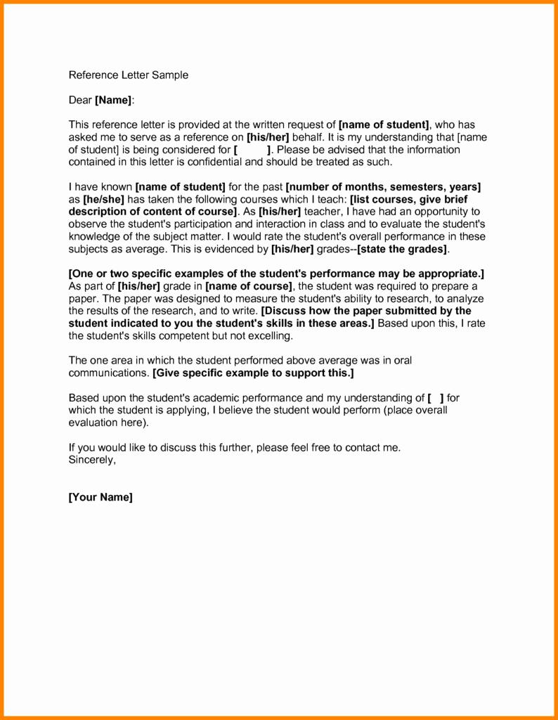 Evaluation Letter Sample for Student Lovely Evaluation Letter Sample All About Sample Letter Green