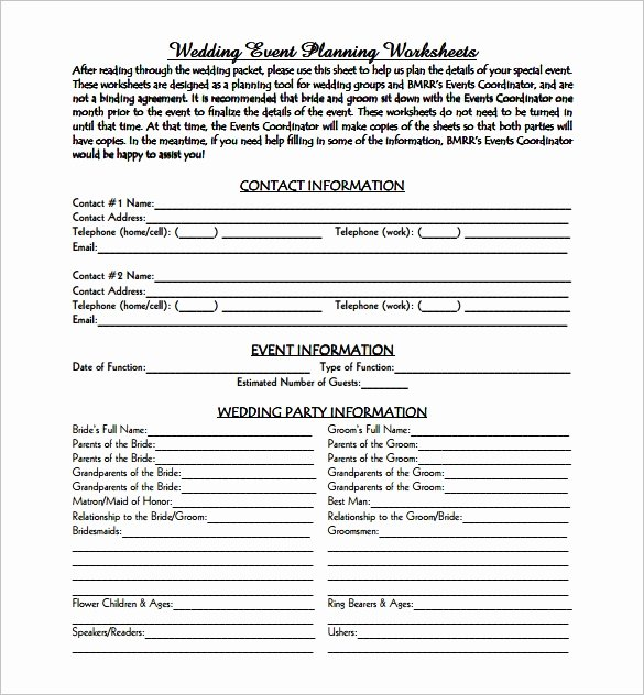 Event Planning Contract Template Free Beautiful event Planning Template 9 Free Word Pdf Documents
