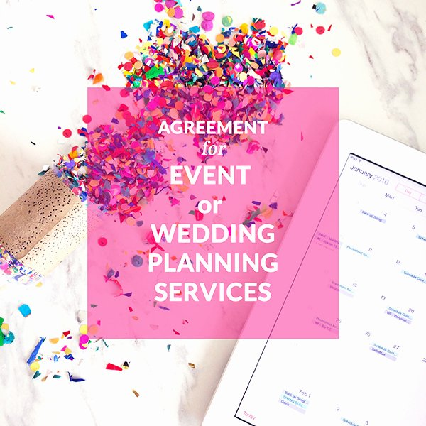Event Planning Contract Template Free Best Of Contract Templates