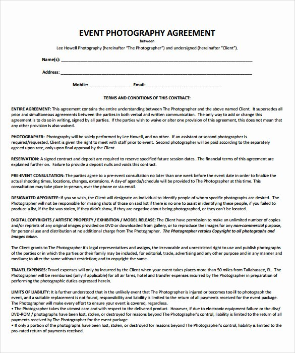 Event Planning Contract Template Free Best Of event Contract Template 25 Download Documents In Pdf