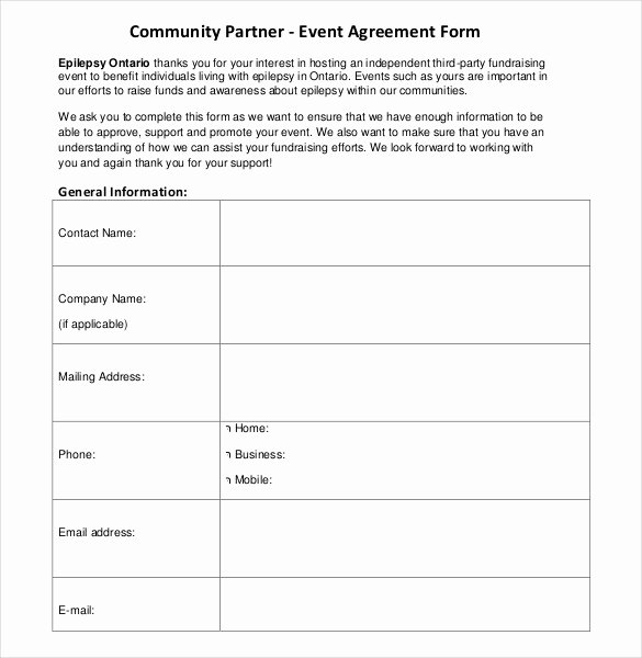 Event Planning Contract Template Free Elegant event Contract Template 23 Word Excel Pdf Documents