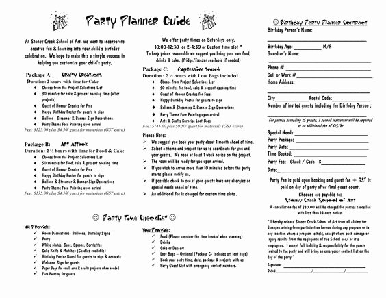 Event Planning Contract Template Free Unique Party Planner Contract Template Google Search