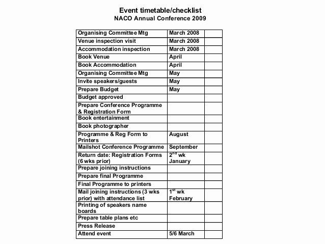 Event Venue Checklist Template Unique event Management