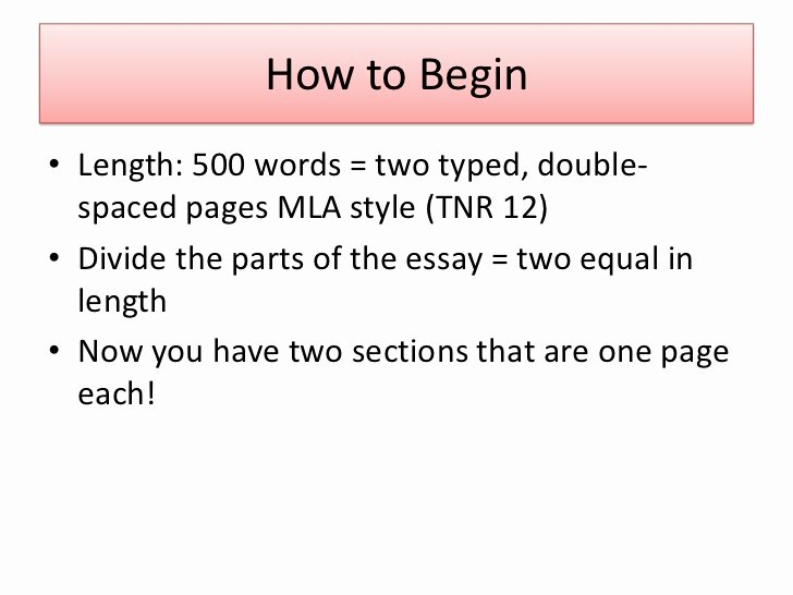 Example Of 500 Words Inspirational 500 Word Essay Double Spaced How Many Pag