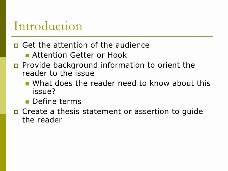 Example Of attention Getter Luxury Great attention Ter for Essays Apaabstract X Fc2