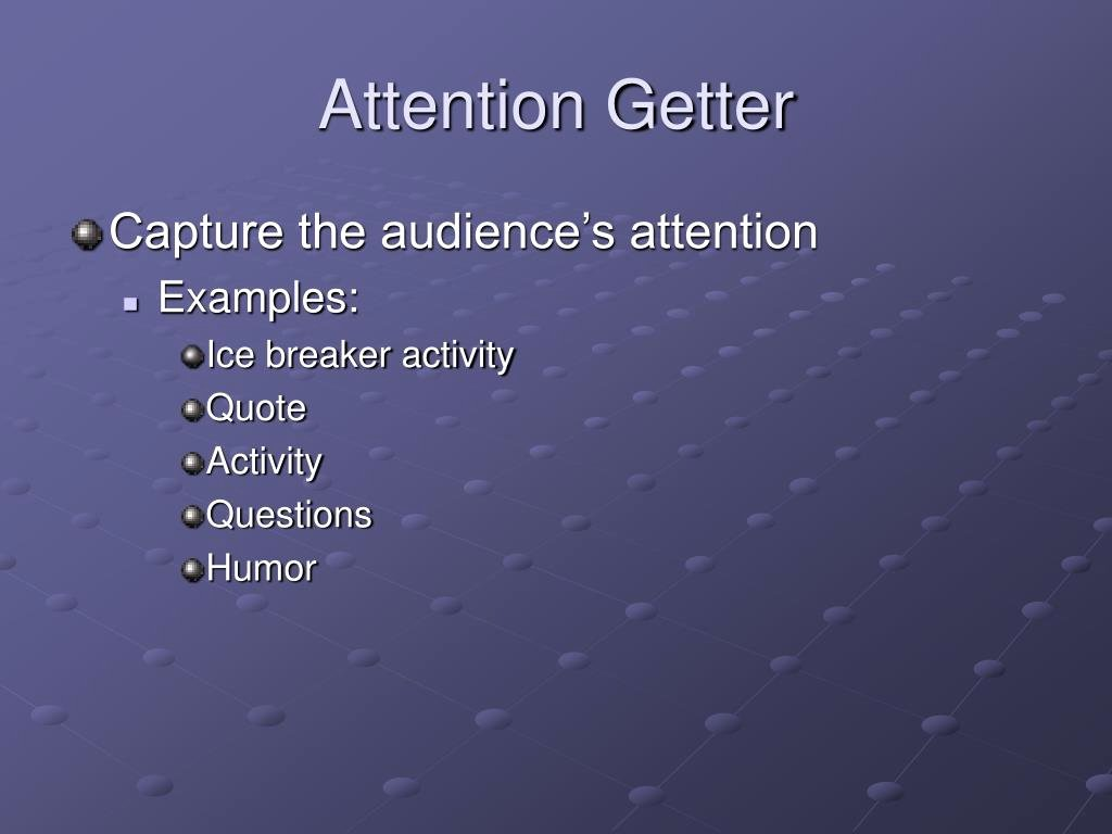 Example Of attention Getter New Ppt Instructional Planning Powerpoint Presentation Id