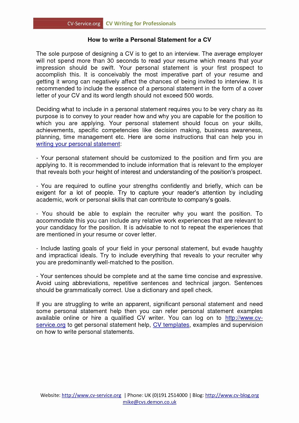 Example Of Personality Profile Essay Awesome Personal Profile Resume Statement for Examples Statements