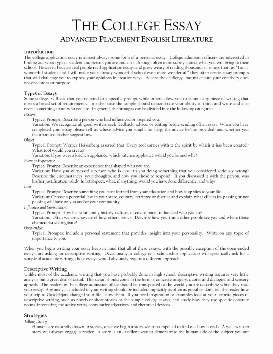 Example Of Personality Profile Essay Awesome Sample Literature Essay Outline Character Analysis Essay
