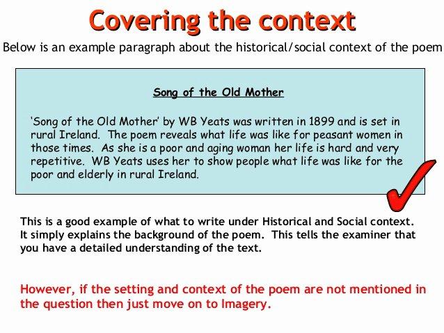 Example Of Poem Analysis Awesome Poem Analysis