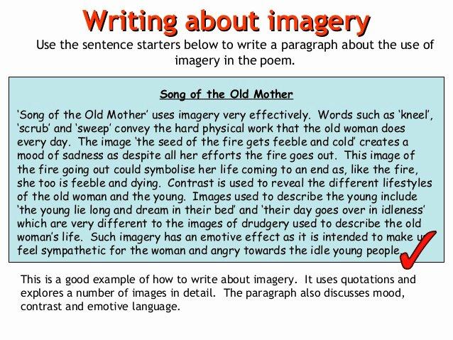 Example Of Poem Analysis Elegant Poem Analysis