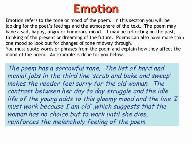 Example Of Poem Analysis Lovely Poem Analysis