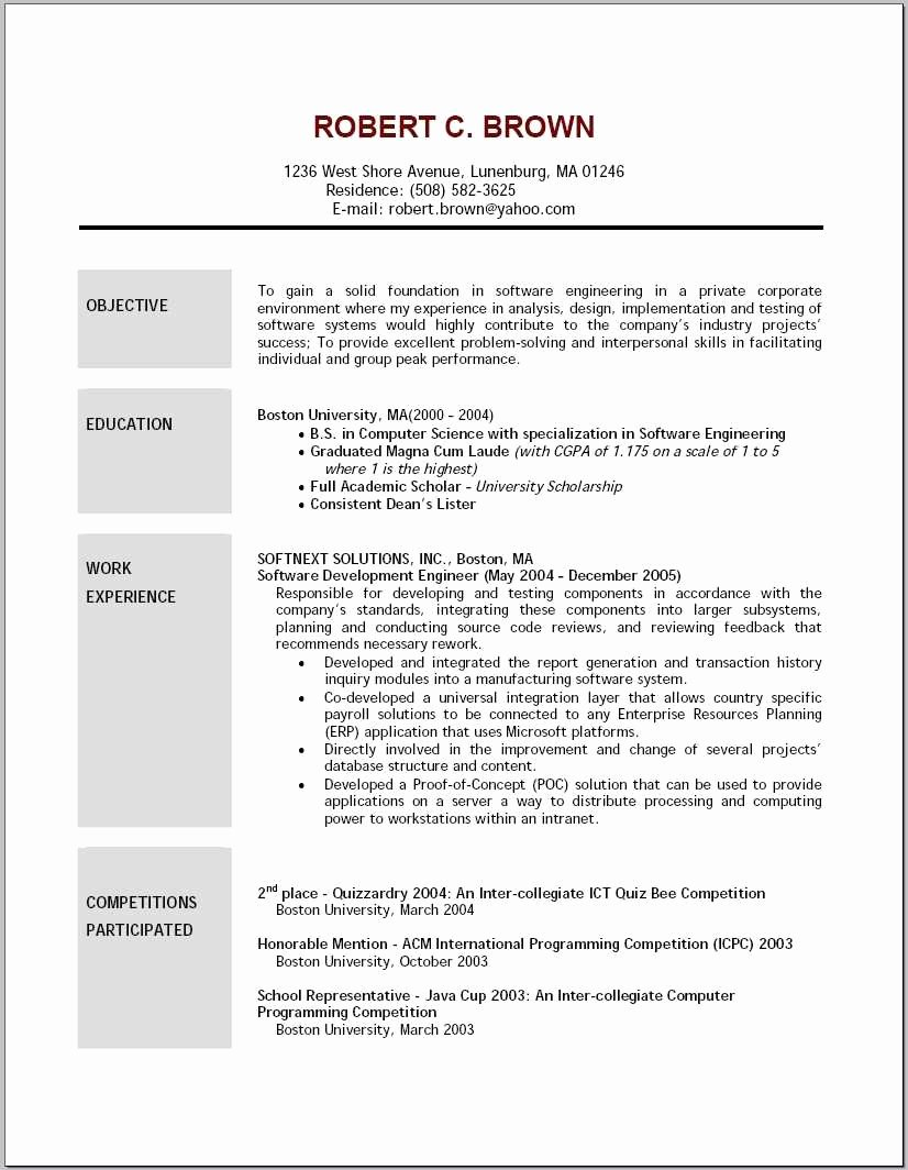 Examples Of Excellent Resumes Awesome 41 Advanced Resume Layout Sample Hz O – Resume Samples