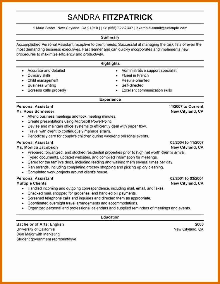 Examples Of Excellent Resumes Beautiful 6 7 Excellent Resume Examples
