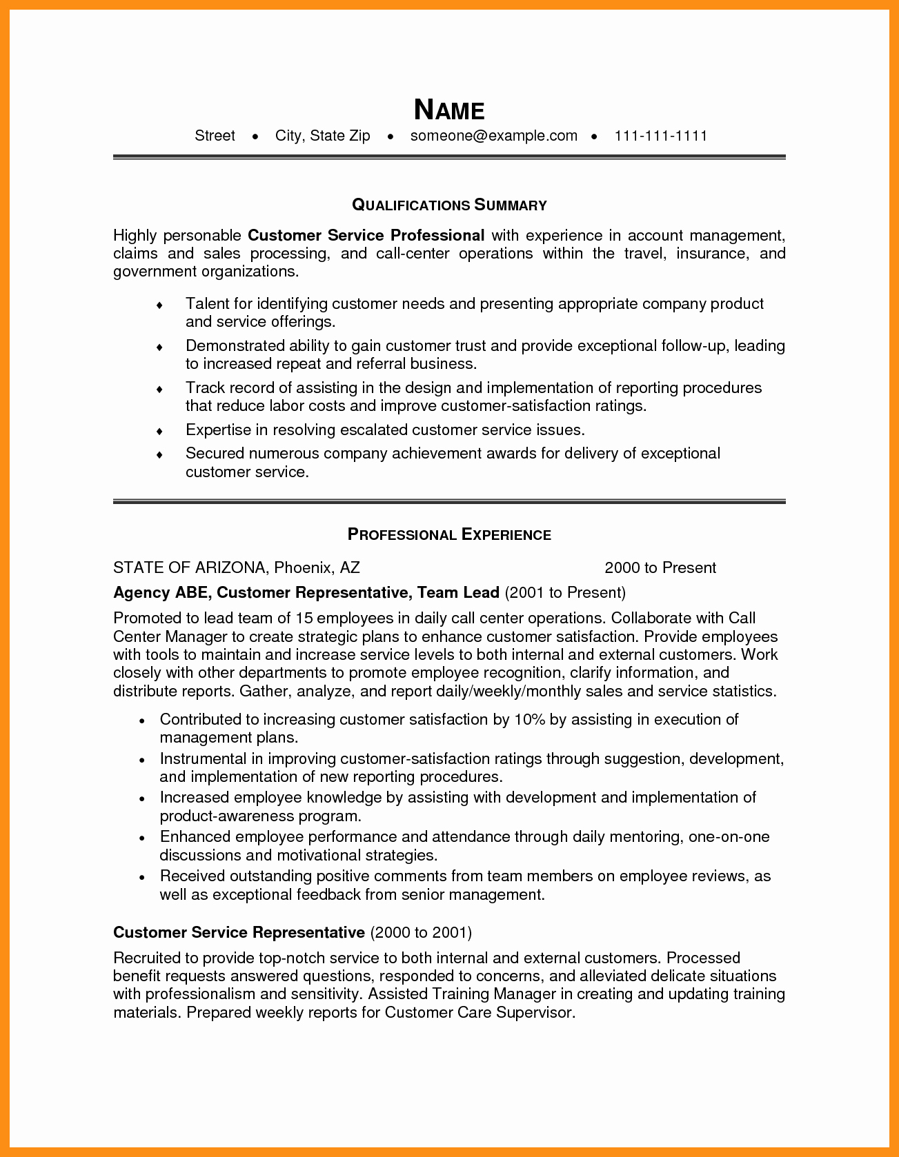 Examples Of Excellent Resumes Beautiful Excellent Resume Examples 2014