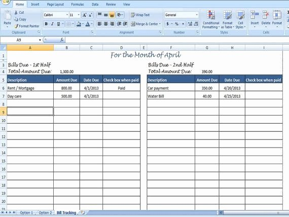 Excel Bill Tracker Beautiful 10 Best Everything Excel Templates Images On Pinterest