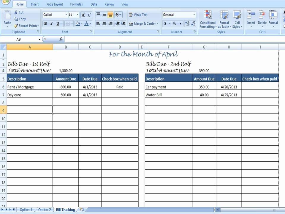 Excel Bill Tracker Best Of Monthly Bill organizer Bill Tracker by Timesavingtemplates