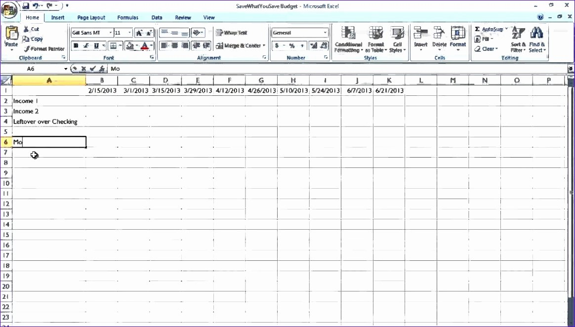 Excel Bill Tracker Inspirational Simple Bill Payment organizer with Date Tracker Excel