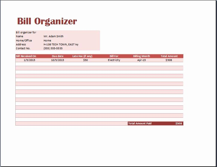 Excel Bill Tracker Luxury Halloween 2007 Ceo Sa Prevodom