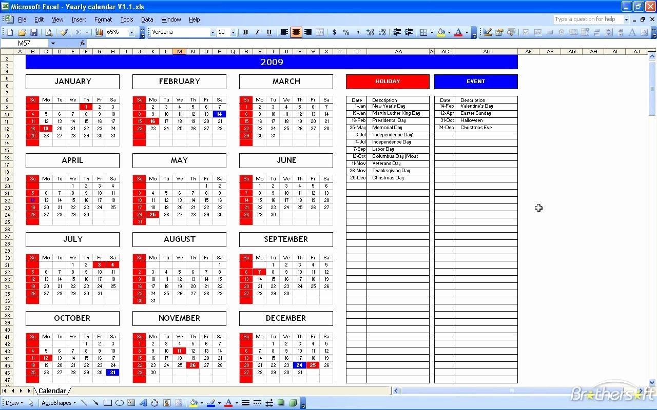 Excel Payroll Template 2019 Awesome Yearly Payroll Calendar Template