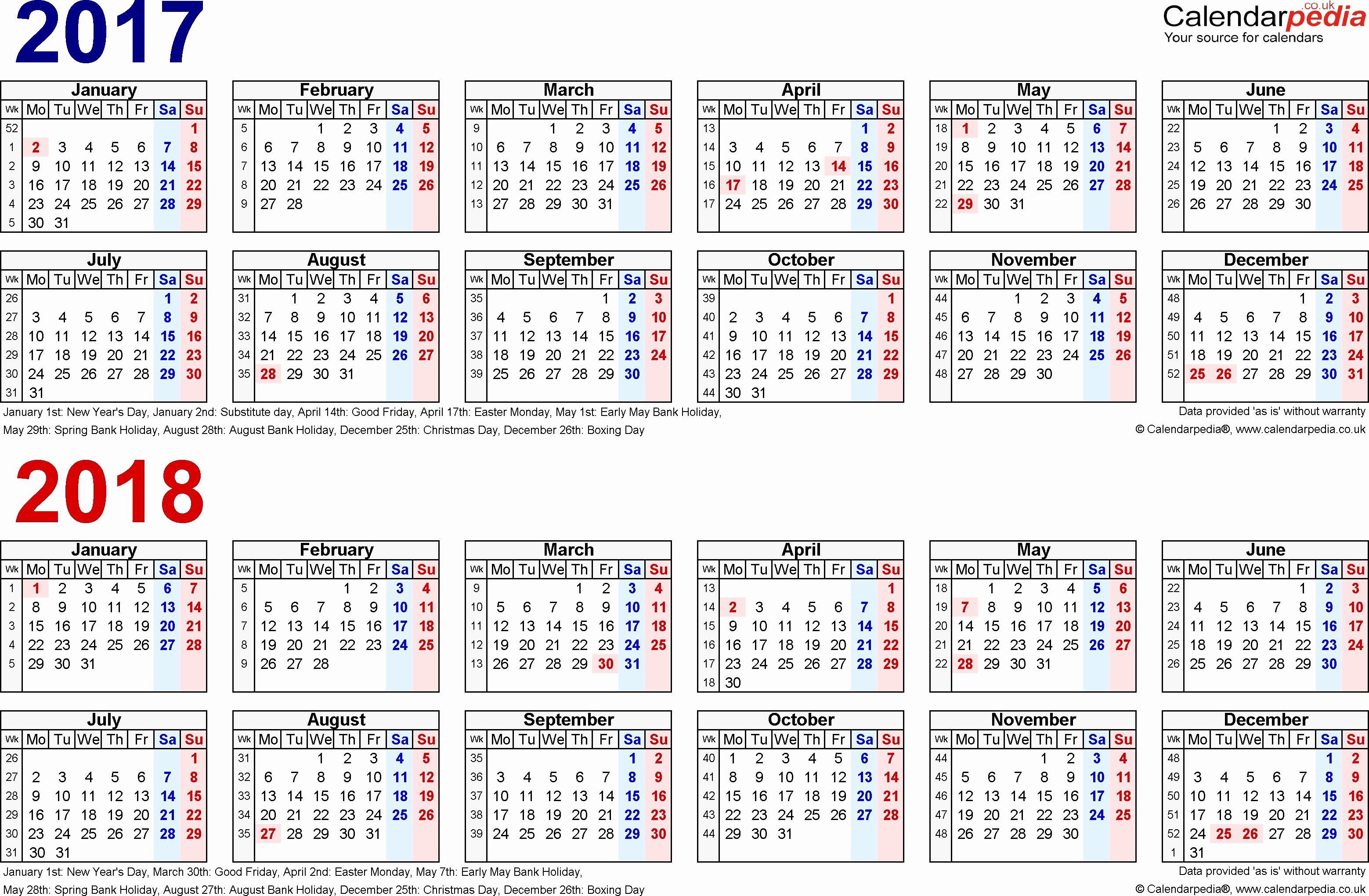Excel Payroll Template 2019 Fresh 2018 Payroll Calendar Printable