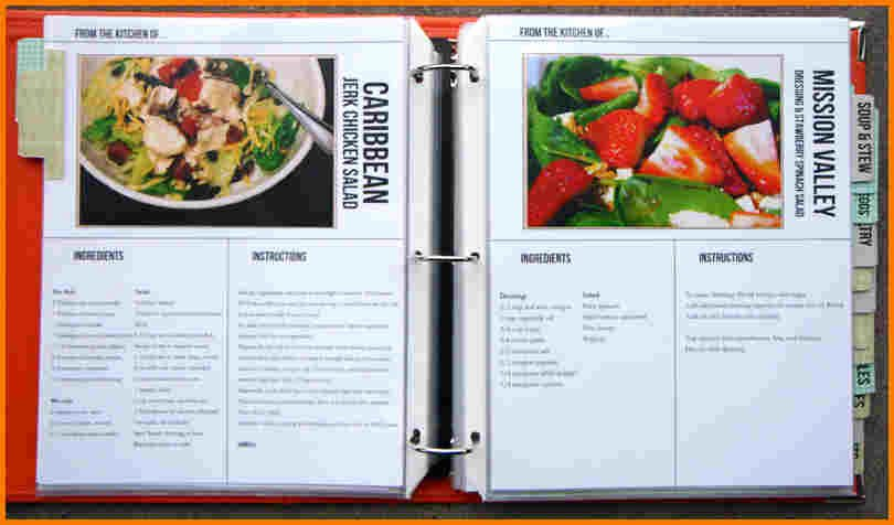 Excel Recipe Template Lovely Free Cookbook Templates