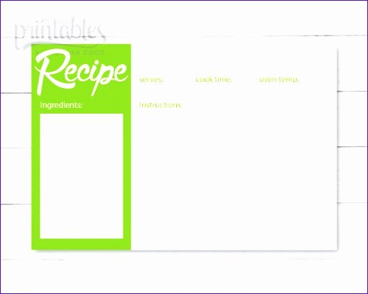 Excel Recipe Template Luxury Excel Recipe Card Template S3dpf Beautiful Restaurant
