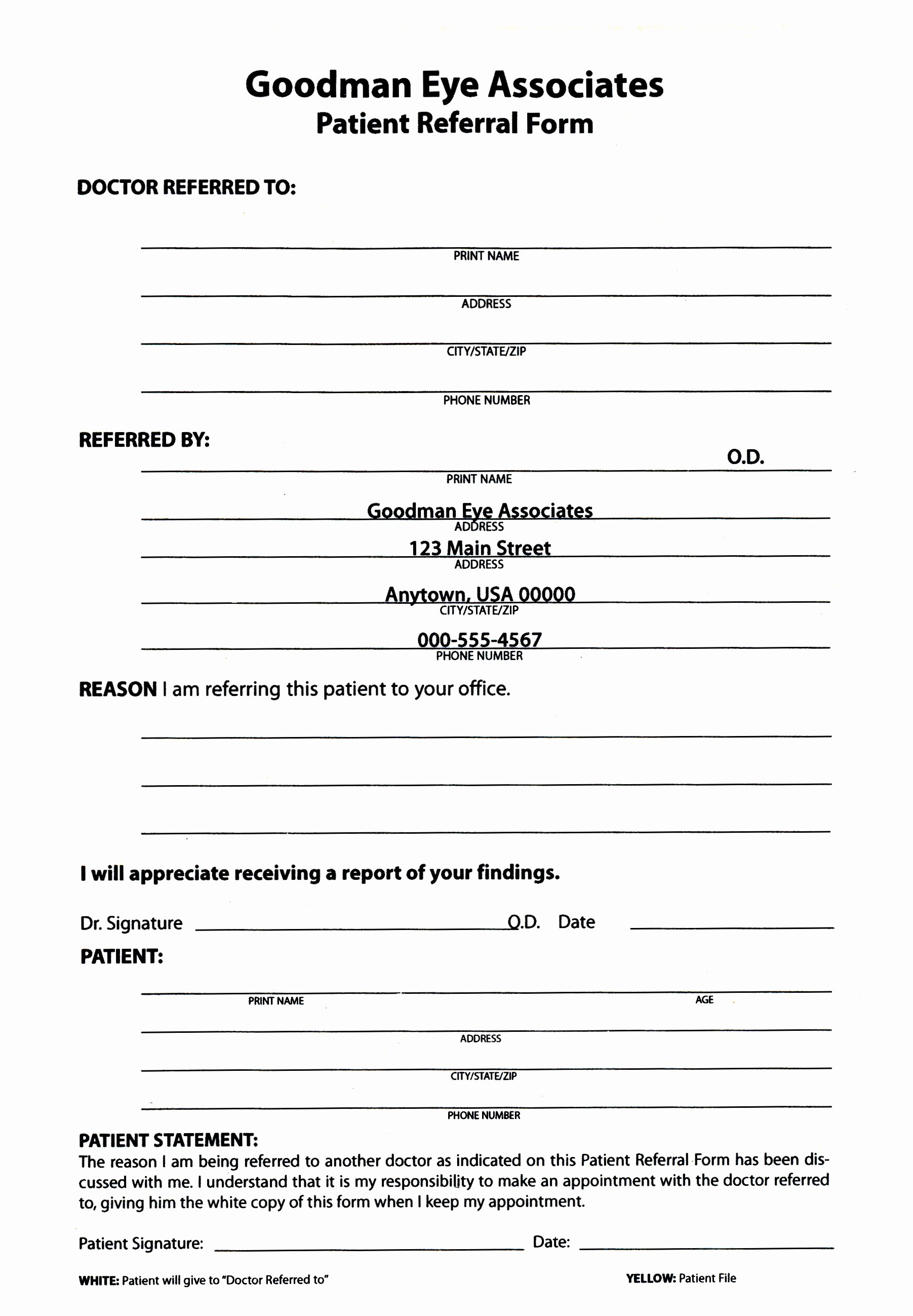 Eye Exam forms Template Awesome Keskes Printing Optometrists