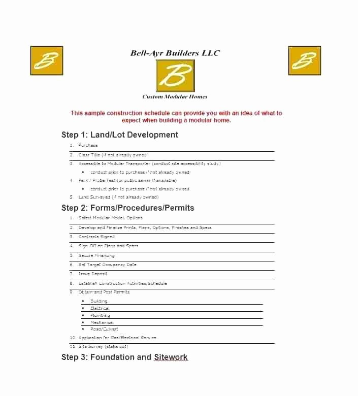 Facility Maintenance Schedule Excel Template Fresh Building Schedule Template