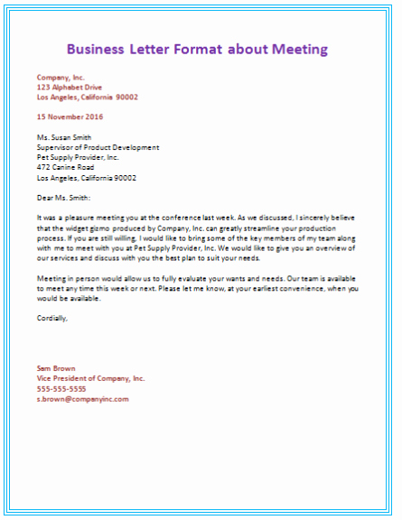 Failed Background Check Letter Template New Business Letter Template Sample format