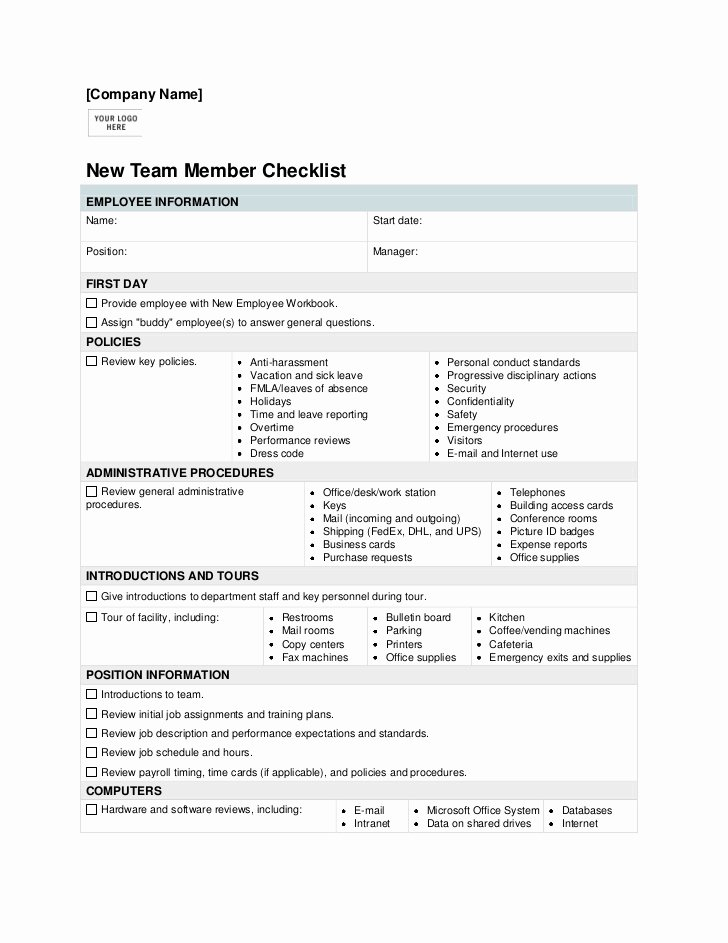 Failed Background Check Letter Template New New Employee Check List