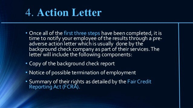 Failed Background Check Letter Unique Employee Failed Background Check