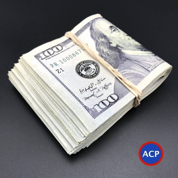 Fake 1000 Dollar Bill Printable Best Of 100 Dollar Bills Fat Band Stack 2000 Dollars Best