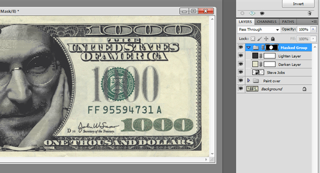 Fake 1000 Dollar Bill Printable Fresh How to Make Line tone Art Like On Money with Shop