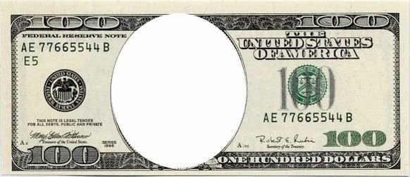 Fake 1000 Dollar Bill Printable Lovely Blank Dollar Bill Template