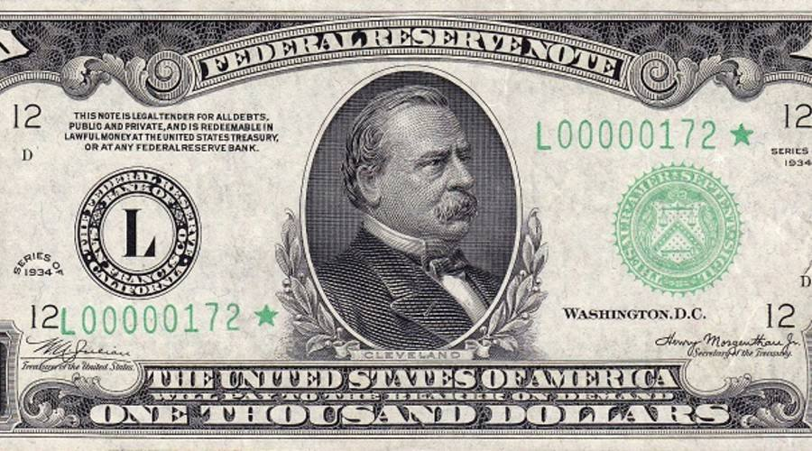 Fake 1000 Dollar Bill Printable Lovely why Do We No Longer Use $1 000 Bills
