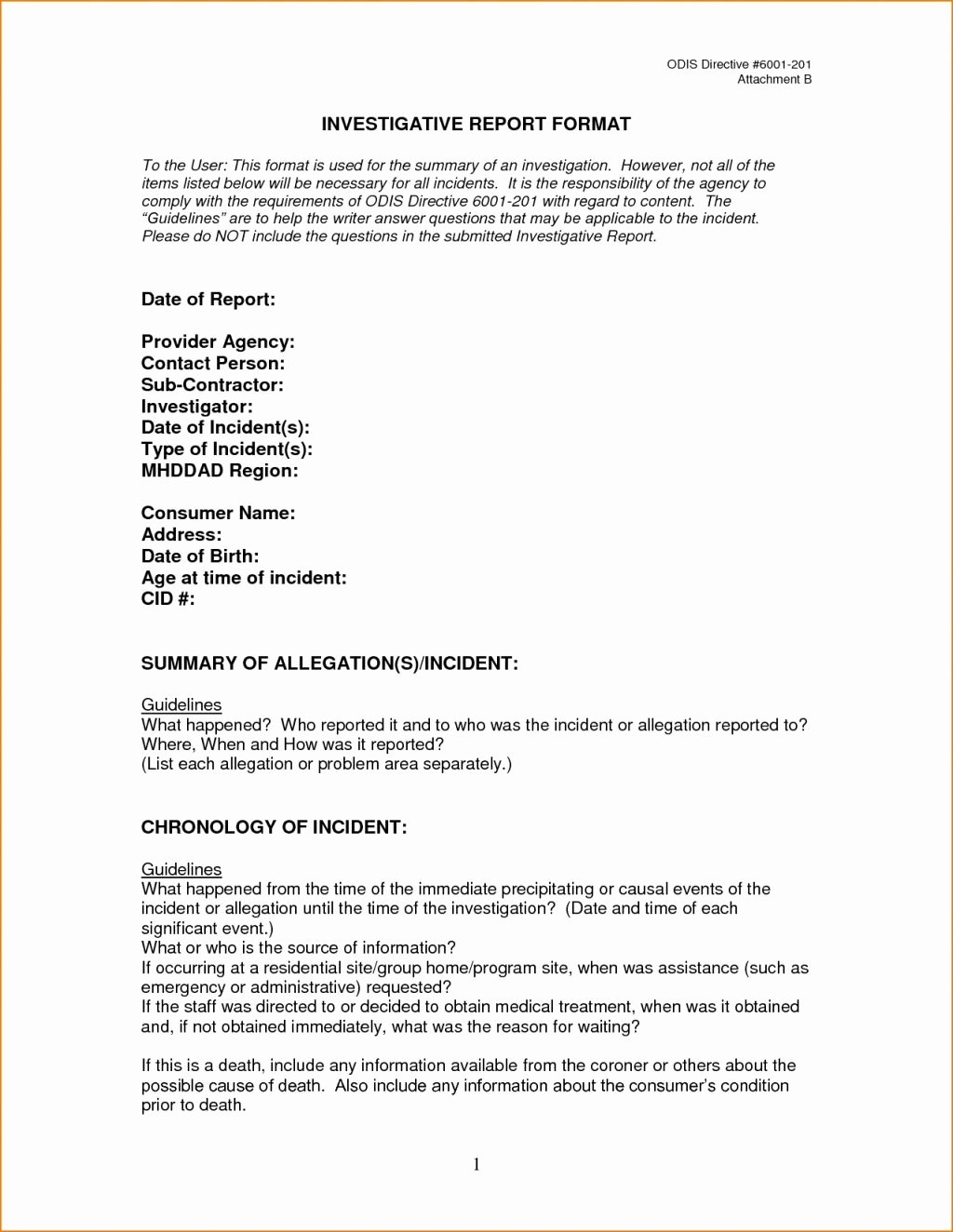 Fake Accident Report Template Lovely Reporting Requirements Template Excel Data Warehouse