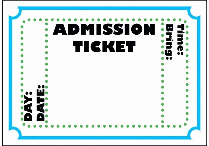 Fake Airline Ticket Generator Elegant Concert Ticket Maker – Concert Ticket Template 42