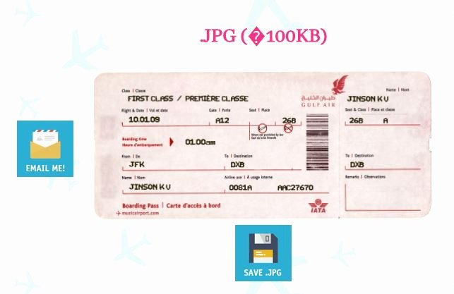 Fake Airline Ticket Generator New 3 Methods to Create Fake Airline Ticket Boarding Pass
