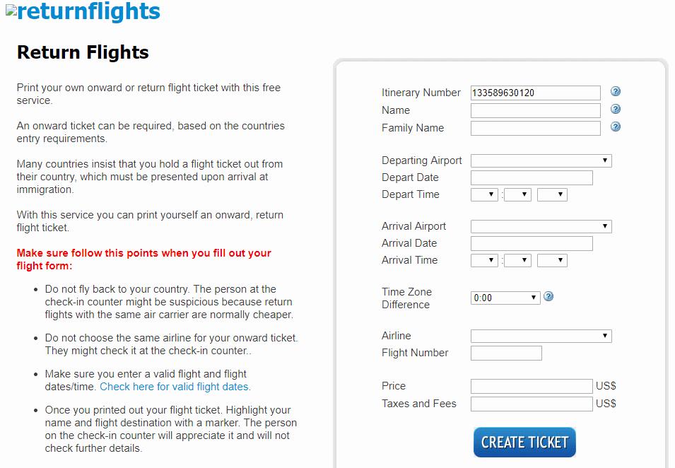 Fake Airline Ticket Generator Unique Fake Plane Ticket Boarding Pass Generator