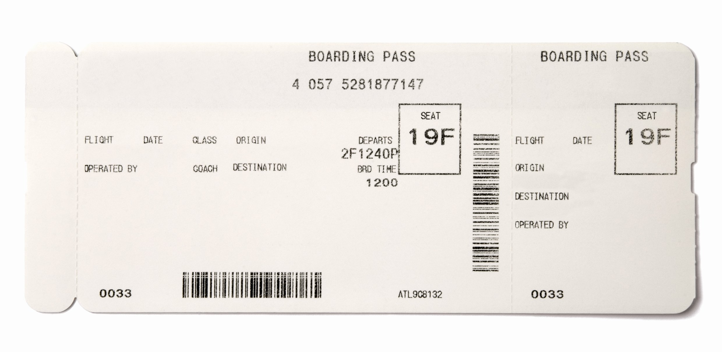 Fake Airline Ticket Template New Making Fake Boarding Passes as Gifts Le Chic Geek