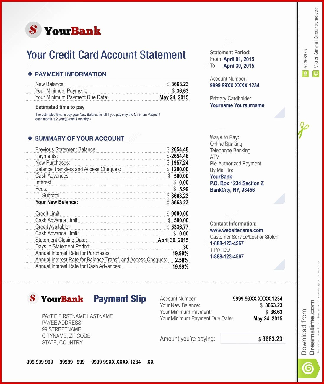 Fake Bank Statements Templates Download Lovely Fake Bank Account Statement Creator