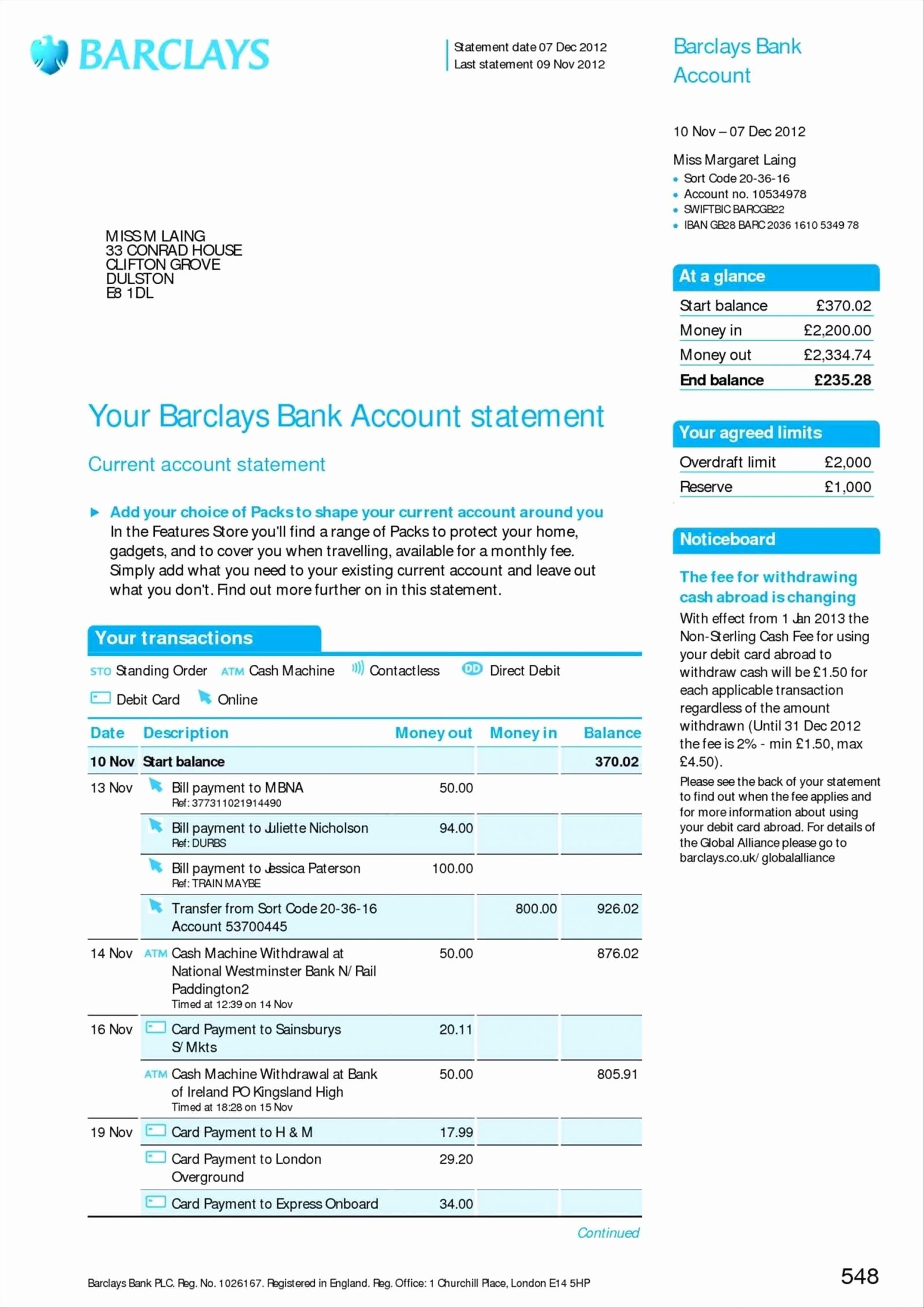Fake Bank Statements Templates Download Luxury Bank Statement Suntrust Template Earningstemplateake