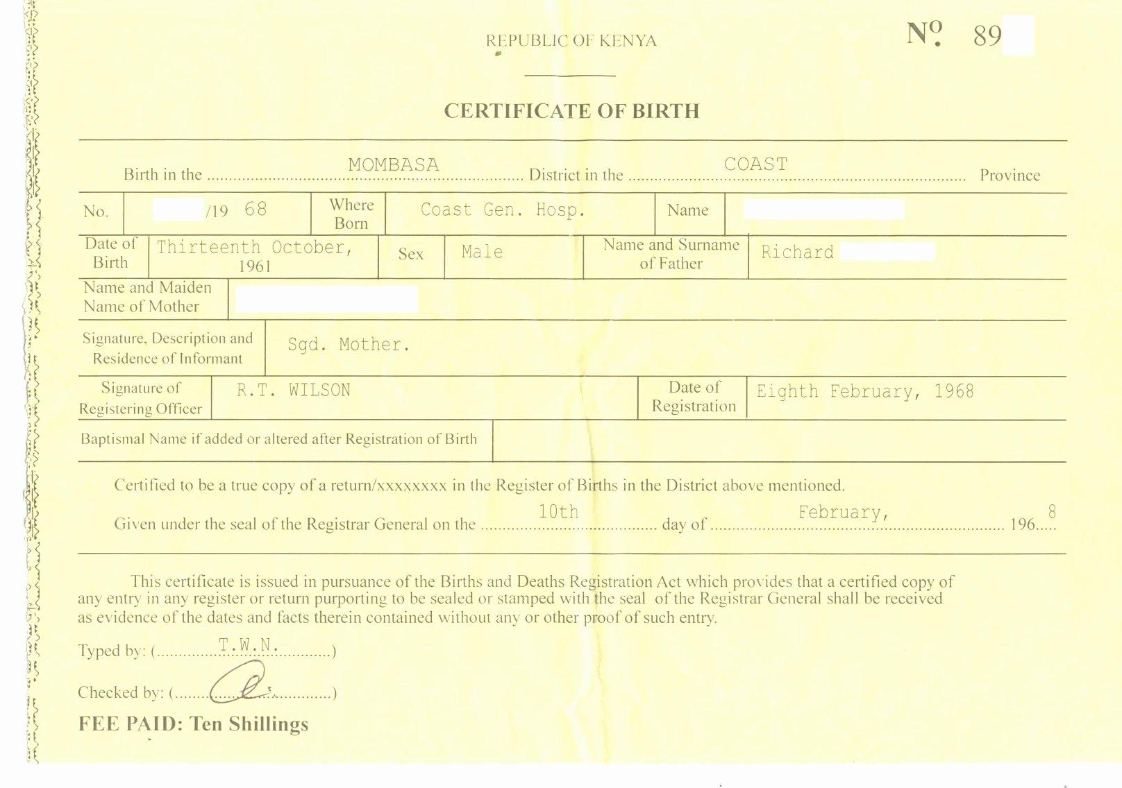 Fake Birth Certificate Template New Certificate Template HTML Certificate Design and